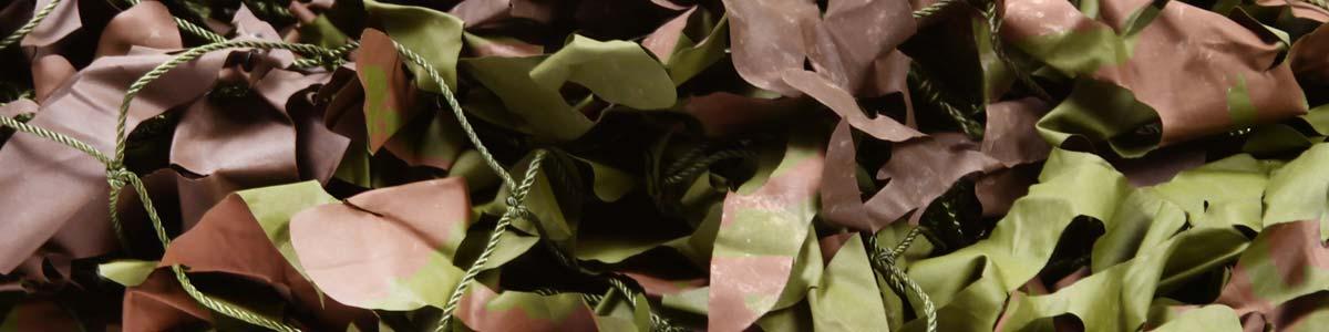 Filet de Camouflage Woodland