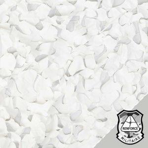 Filet de Camouflage Blanc Renforcé & Non-Ignifugé – Armée Américaine