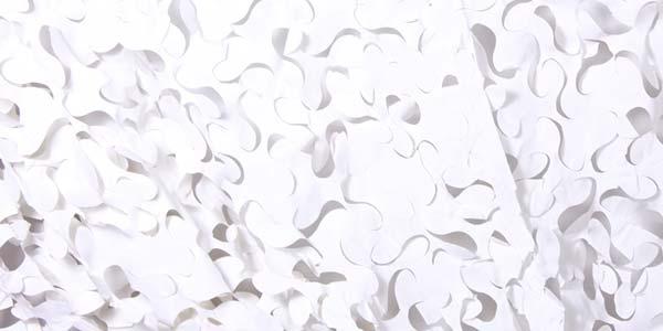filet de camouflage blanc