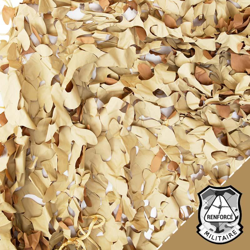 Original Britannique Filet de Camouflage Kaki Divers Tailles Armée Sable Beige
