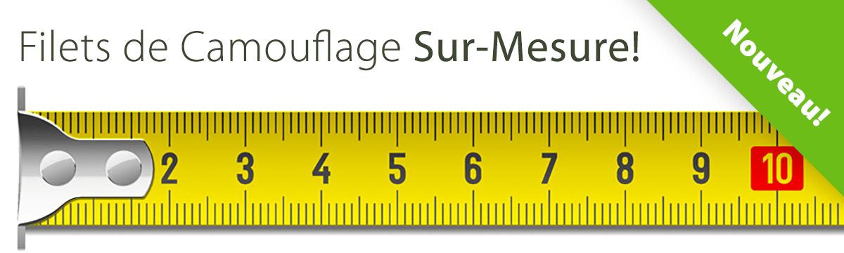 Filet de Camouflage Sur Mesure